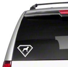 "Rottweiler Super Dog 7.5"" Car Vinyl Sticker Decal love pet leash dogfood *E29*"