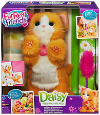 FurReal FRIENDS - DAISY PLAYS WITH MY KITTY INTERACTIVE PET SOFT FUR BRAND NEW