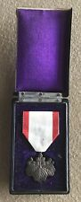 WWII JAPANESE ORDER OF THE RISING SUN WHITE PAULOWNIA MEDAL 8TH CLASS