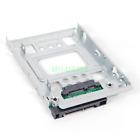 """2.5"""" SSD to 3.5"""" SATA Hard Disk Drive SAS HDD Adapter CADDY TRAY Hot Swap Plug"""