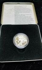 1998 Canada Sterling Silver 50 Cent Skiing Coin - 1888 ski racing championship