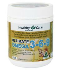 Healthy Care Ultimate Omega 3-6-9 200 Capsules Ozhealthexperts