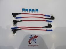 5 x piggy back fuse add a circuit mini blade fuse holder