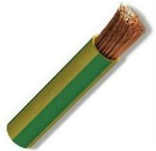 Cable 10 mm2. Amatillo-verde corte a metros