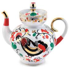 20 fl oz Roosters Brewing Teapot. Imperial Lomonosov Porcelain Tea Pot