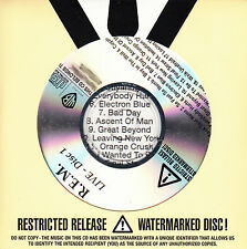 REM Live UK 22-trk numbered/watermarked promo test 2-CD R.E.M.