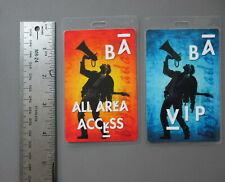 Bryan Adams backstage passes Otto Laminated 2 Full Circle Tour 2-sided passes !