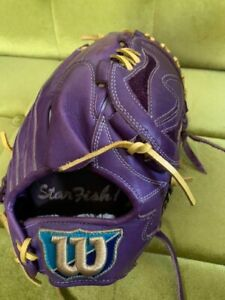 Vintage Baseball Glove wilson For pitchers Leisure sports From Japanese K8970