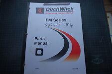 Ditch Witch Mm5 Mm9 Fm5 Fm13 Fluid Mixer Parts Manual Book Catalog List Shop Oem