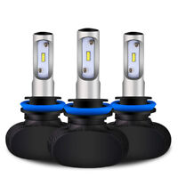 2X LED Headlight H8 H9 H11 110W 8000LM 6500K Conversion Fog Bulb HID Fog Light
