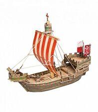 Clever 3D 14268 -Puzzle de cartón de barco Medieval