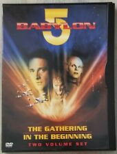 Babylon 5 The Gathering / In the Beginning 1993 DVD (2001) USED Good Condition