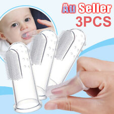 Toothbrush Finger Clean Silicone Kid Soft Baby Training Gum Teeth Brush
