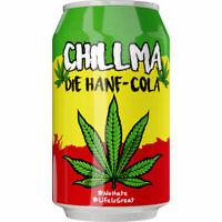 24 Dosen Chillma Hanf Cola a 0,33 L Hanfcola ink. EINWEG Pfand Chill ma