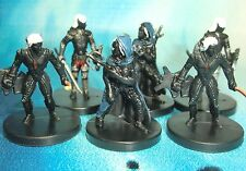 Dungeons & Dragons Miniatures Lot  Drow Assassin Spiderbound Drow Warrior s116