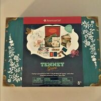 Retired! New In Box! American Girl Tenny's Journal Kit Set For Girls  8+