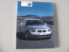 Manuel d'utilisation en allemand BMW E60 520i 530i 530d -année 2003