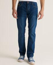 Superdry Mens Officer Slim Jeans