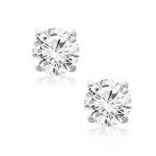 Diamond Stud Earring 1/4 CT 14K White Gold