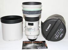 Canon EF 400mm f/4 DO IS USM Super Telephoto Lens MINT Condition In Case GREAT
