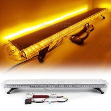 "55"" Amber LED Strobe Light Bar Emergency Beacon Response Warn Tow Truck Wrecker"