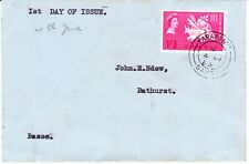 GAMBIA  1963 COVER WITH FARAFENNI POSTMARK FFH
