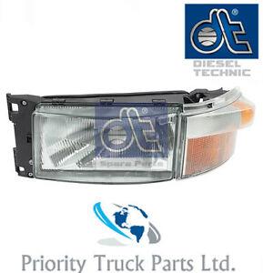 Scania 4 Series Headlamp/Headlight LH/NS - *Brand: Diesel Technic* *OE*