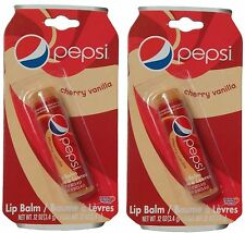 Pepsi Cherry Vanilla Lip Balm .12oz(3.4g) Pack of 2