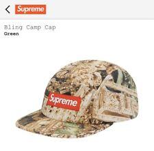 Supreme Bling Camp Cap Green S/M