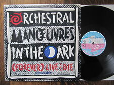 """OMD (Forever) Live and die '86 UK 12"""" Maxi Virgin 1st press plays perfect Vinyl"""