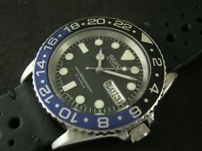 SEIKO SKX031 7S26-0040 Submariner Modified Batman Water Proof Tested Excellent