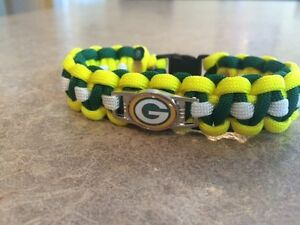 Green Bay Packers NFL Paracord Bracelet
