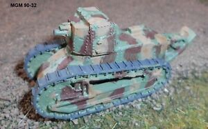 MGM 090-32 1/76 Resin WWII French FT 17 BS 75 mm Howitzer
