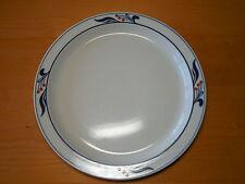 """Dansk Japan Bistro MARIBO Set of 5 Dinner Plates 10 1/2"""" Blue Red"""