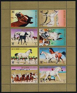 Bahrain 224 MNH Horses, Arabian Stallions