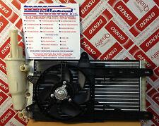 Radiatore + Ventola Lancia Y Elefantino 1.2 Benzina s/AC dal '96 in poi. NUOVO