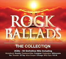 VARIOUS ARTISTS - ROCK BALLADS: THE COLLECTION 3CD SET (2014)