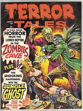 1971 TERROR TALES VOL 3 # 1 7.5 8.0 SUPER NICE BOOK ZOMBIES