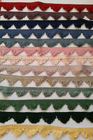 Blue Green Trim Gimp Braid Upholstery Curtains Blinds  2 Metres 30mm 3cm