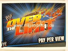 Slam Attax Rumble-Over the Limit-Pay Per View