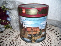 Numberg Village German Tin Box