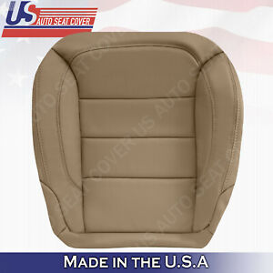 Fits 2012 2013 Mercedes Benz ML250 ML350 Lower Passenger Leather Seat Cover TAN