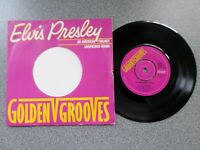 "ELVIS PRESLEY - AMERICAN TRILOGY / SUSPICIOUS MINDS - RARE 7"" VINYL SINGLE"