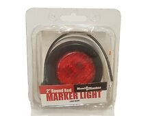 "BRAND NEW - HaulMaster 2"" Round Red Marker Light 12V"