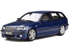 BMW e46 330i Touring M Pack mysticblue Modellauto OT251 Otto 1:18