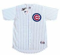 Chicago Cubs MLB Majestic Pinstripe Big & Tall Home Men's Replica Jersey