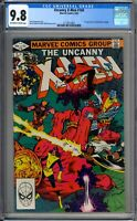 Uncanny X-Men 160  CGC Graded 9.8 NM/MT Marvel Comics 1982