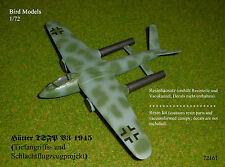 Hütter TSFP  V3  1945   1/72 Bird Models Resinbausatz / resin kit
