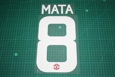 Manchester United 15/16 #8 MATA UEFA / FA Cup HomeKit Nameset Printing