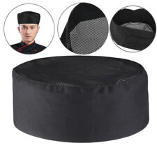 Adjustable Chef Hat Elastic Baker Kitchen Cooking Hat Adult Restaurants Chef Cap